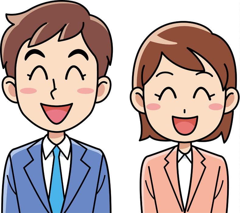 【ビジネスマナー】笑顔で人と接する!!