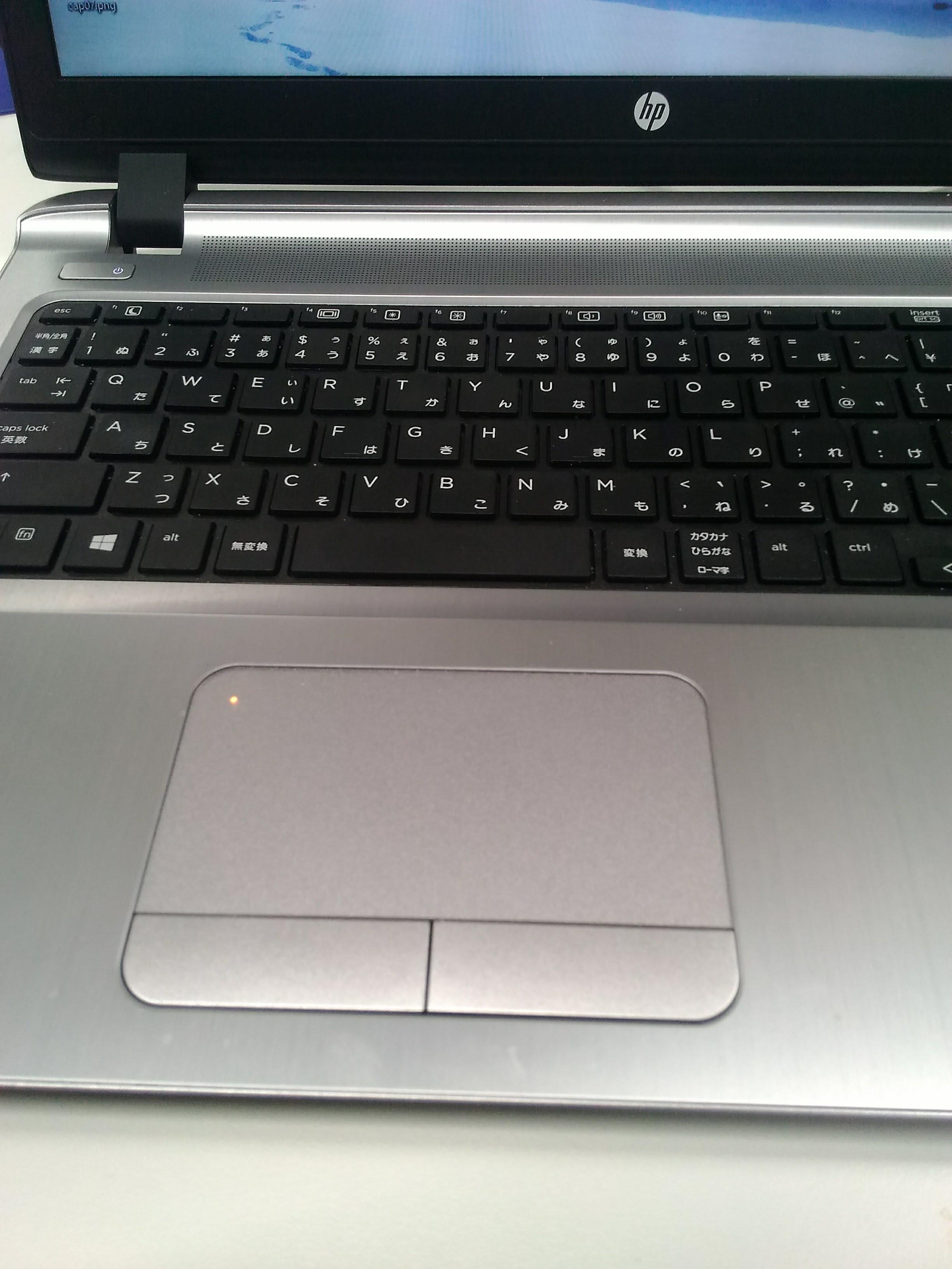 【スタッフ日記】ノートパソコンのタッチパッドを無効にしたい