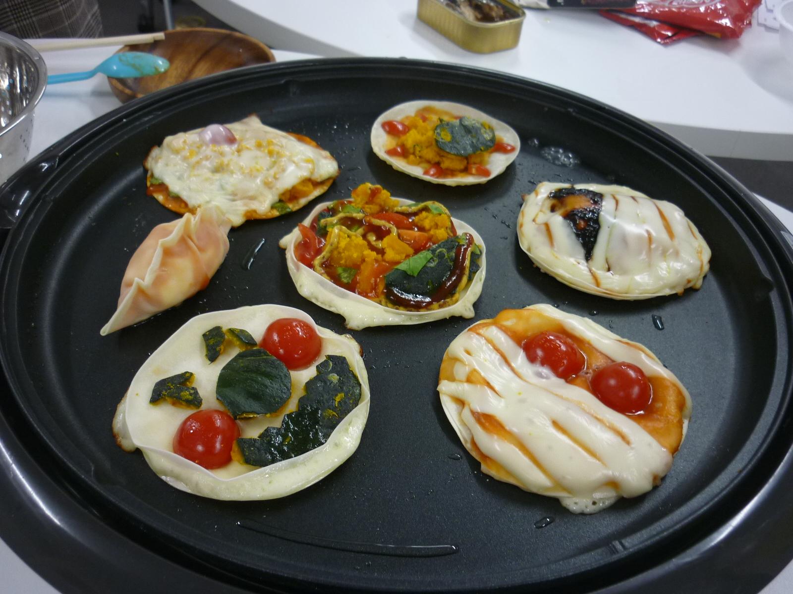 【土曜日開所】ピザを作りました。