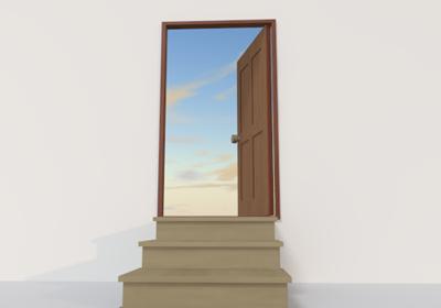 【文字練習】 幸せのドア