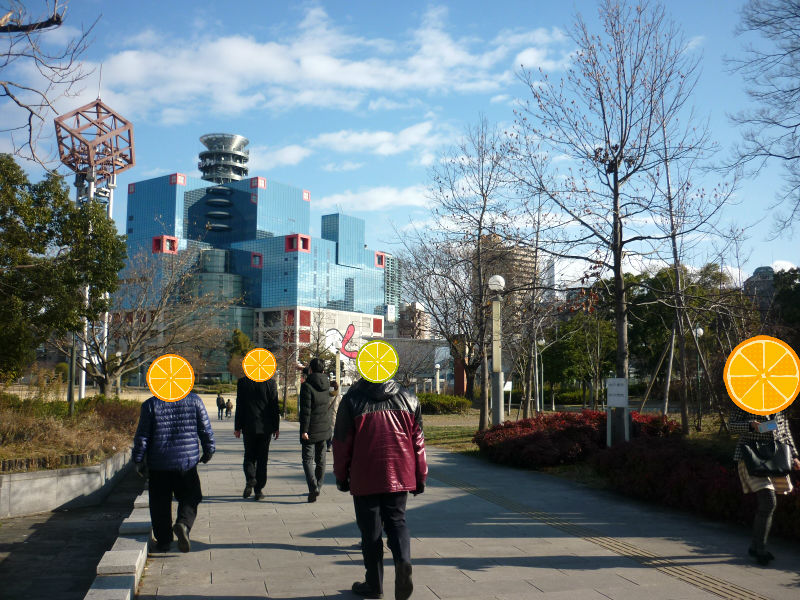 【ウォーキング】~とある冬の日~