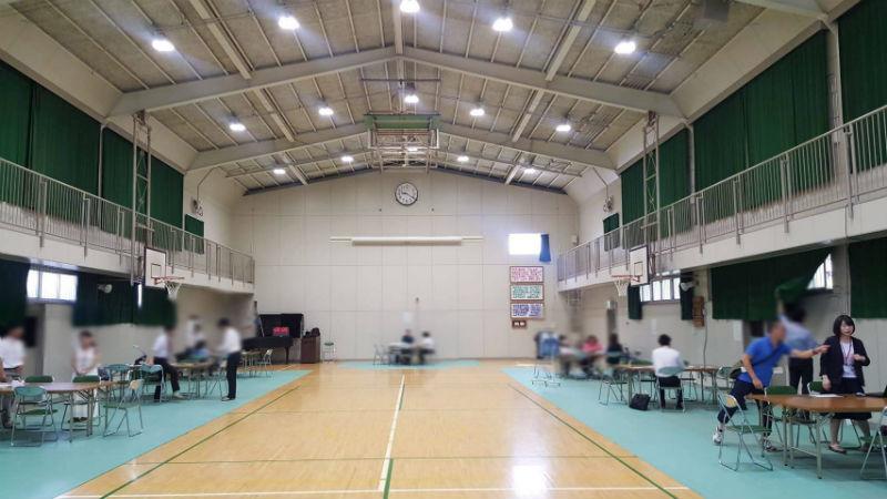 6月12日 大阪教育大学附属支援学校でのイベント